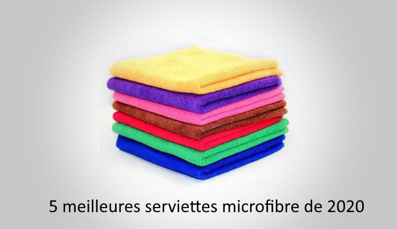 5 meilleures serviettes microfibre de 2020